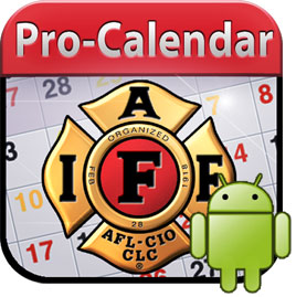 IAFF Pro-Calendar for Android Devices