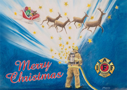 IAFF Holiday Card