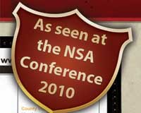 As seen at NSA Convention 2010