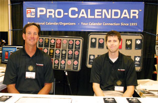 Mike and Matt at the IAFF convention in San Diego